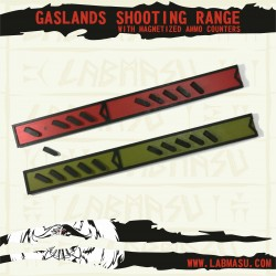 Gaslands Shooting Range + magnetized ammo counter