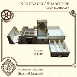 NIGHTVAULT / SHADESPIRE Game Dashboard