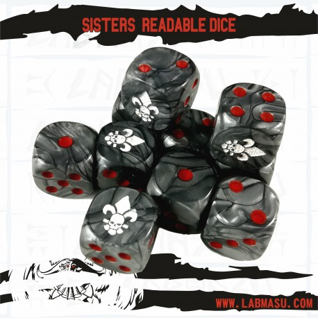 Sister Readable Dice
