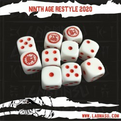 The 9th Age Dice Set - Restyle 2020