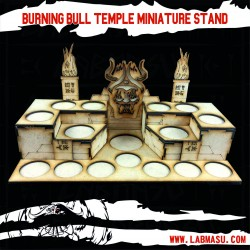 Burning Bull Miniature Stand