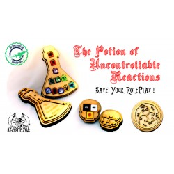 The potion of Uncontrollable Reactions - Game Master Vendetta
