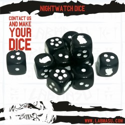 SOIF compatible Nightwatch dice set