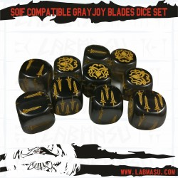 SOIF compatible Grayjoy Blades dice set