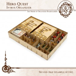 HERO QUEST Compatible -In Box Organizer