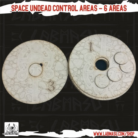 40K Compatible - Space Undead 6 Control Areas