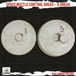40K Compatible - Space Beetle 6 Control Areas