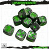 Lamplighters Marble Dice - Set of 10