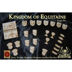 Kingdom of Equitaine token set