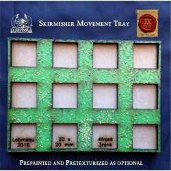 Modular movement tray for skirmishers