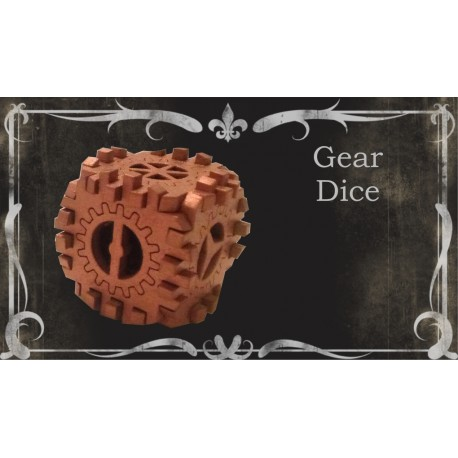 Gear Dices - pack of 3
