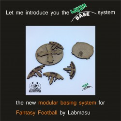 Layer Base - modular basing system for Fantasy Football