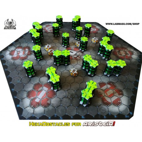 HexaObstacles for Aristeia