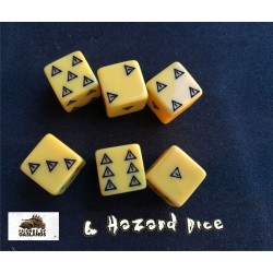 Gaslands Skid set of 6 dice